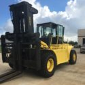 1997 Hyster H550F  55000 lb Cummins Diesel 2 stage Pneumatic Side Shift  Fork Positioner