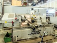 "2008 HAAS TL-3W Lathe, 12"" chuck, manual tail stock"