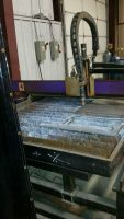 Plasma Cutter Hypertherm 2000 Oxygen Plasma Cutter with 2007 5 x 10 CNC Table