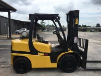 "2011 Yale GLP080VX  8,000# capacity  LPG / GM  Two Stage mast 143"" lift height / 98"" lift height   Sideshift  Fork Positioner"