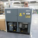 50 HP Rotary Screw Compressor Atlas Copco  Cooled with Air Dryer GA-37 FF Year 2000