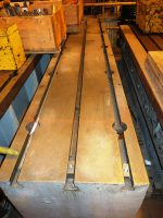 T-Slotted, Cast Iron Bed Plates  | Parallels Positioning Tables